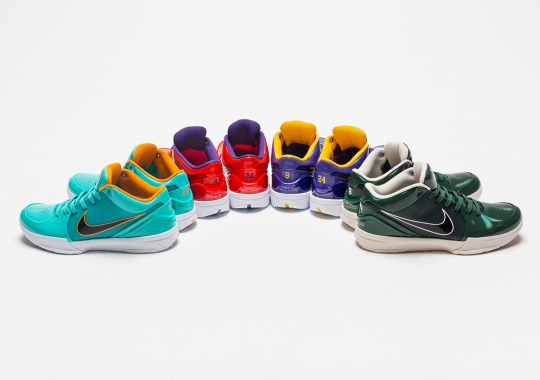 UNDEFEATED Reveals The Nike Kobe 4 Protro Collaboration In Four Ways