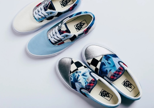Vans Adds Mismatched Patchwork Uppers On Their Icons