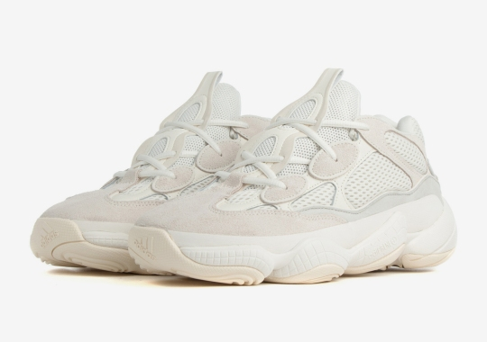 "Where To Buy The adidas Yeezy 500 ""Bone White"""