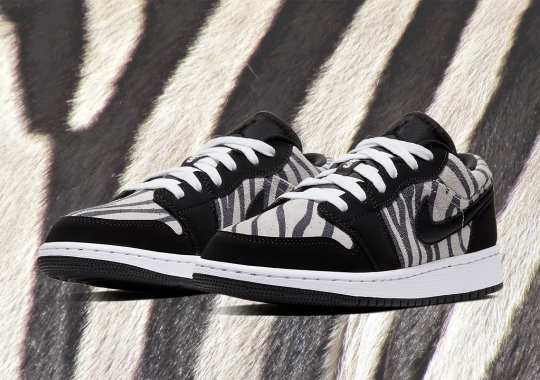 "The Air Jordan 1 GS ""Zebra"" Has Some Daktari Dunk Vibes"