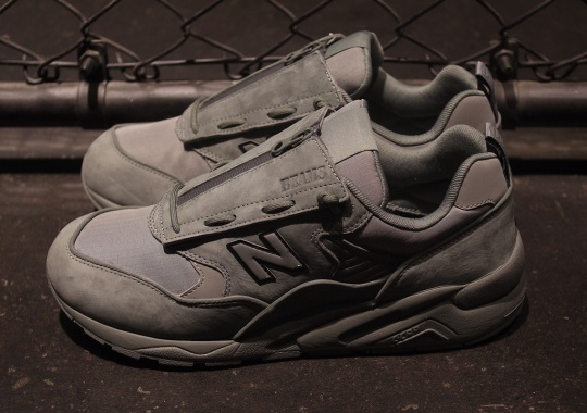 BEAMS And mita Add Protective Lace Shrouds To The New Balance CMT580