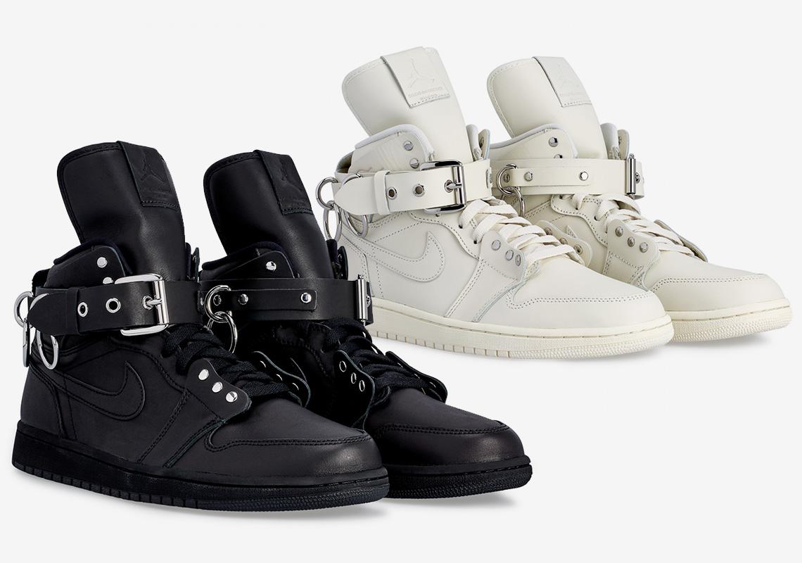 cienie wyglądają dobrze wyprzedaż buty kup sprzedaż Comme Des Garcons Jordan 1 CN5738-100 CN5738-001 Release ...