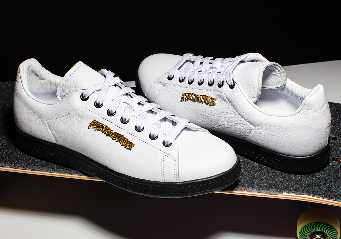 the best attitude a4a98 d3056 Fucking Awesome adidas Stan Smith White Black FU9055 Release ...