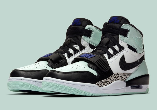 "The Jordan Legacy 312 Utilizes The Familiar ""Igloo"" From Art Basel"