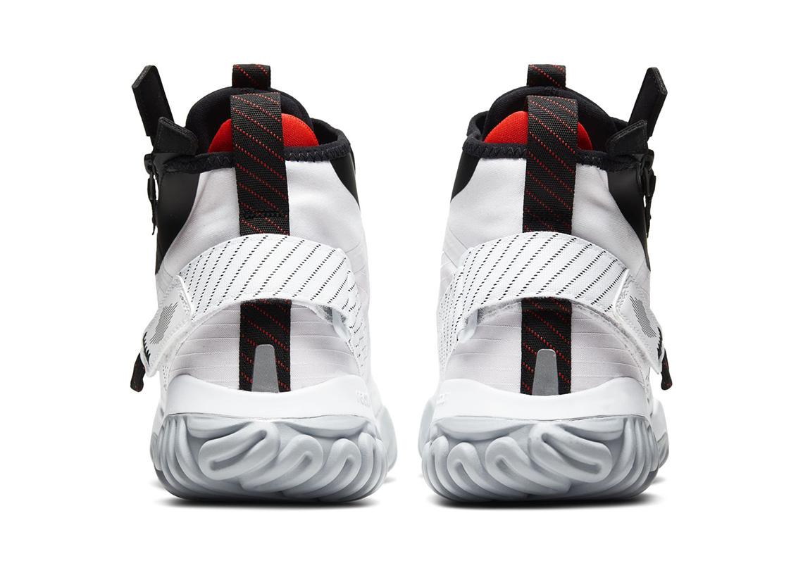 Jordan Proto React Zip Black Red Silver Release Info
