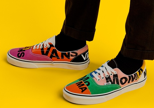 MoMa Turns The Vans Era Into An Abstract Piece Of Art