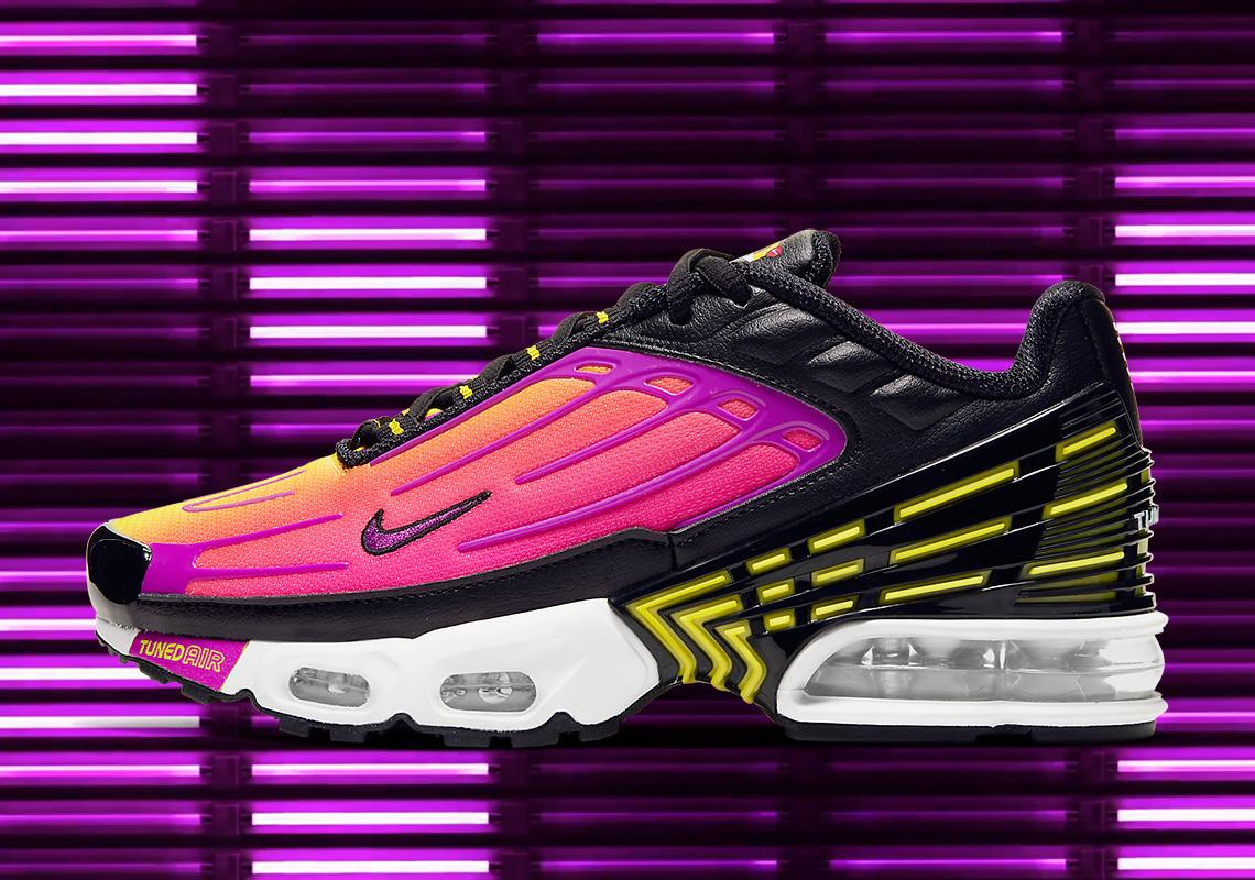 best website b6579 a76da Nike Air Max Plus 3 Hyper Purple CD6871-005 Release Info ...
