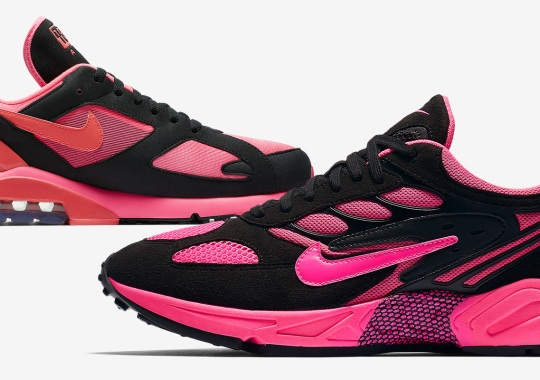 COMME des GARÇONS' Vivacious Black And Pink Appears On The Nike Ghost Racer