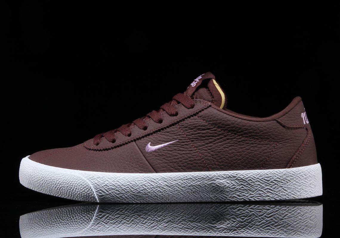 The Nike SB Zoom Bruin Gets Mahogany Tumbled Leathers
