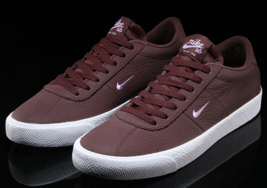 The Nike SB Zoom Bruin Gets Mahogany Tumbled Leathers