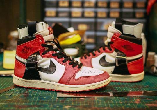 Michael Jordan's Injury Rehab Air Jordan 1s Get Replicated By Customizer SBTG