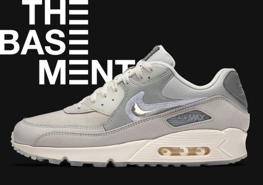 The Basement Pre-Approves Their Upcoming Nike Air Max 90 Collaboration