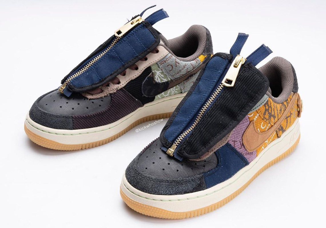Travis Scott Nike Air Force 1 Release Date |