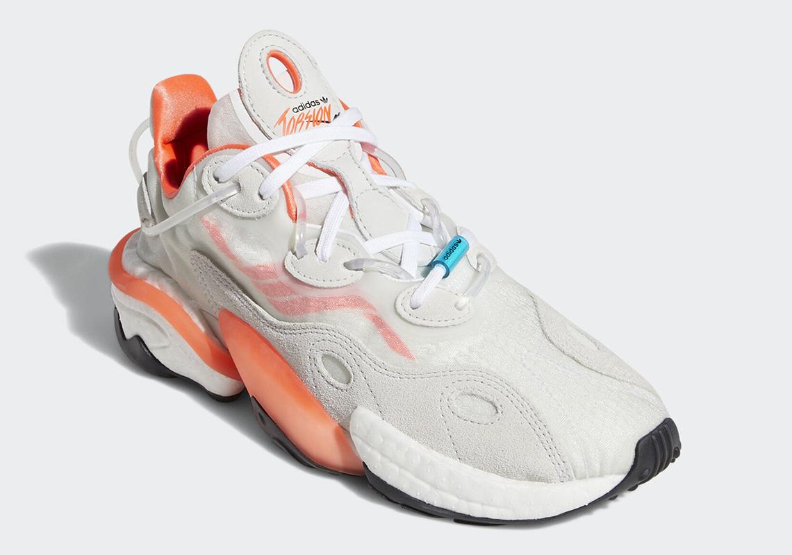 adidas Torsion X White Orange EH0244