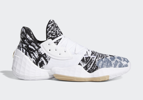 This Wild adidas Harden Vol. 4 With Animal Prints Drops In November