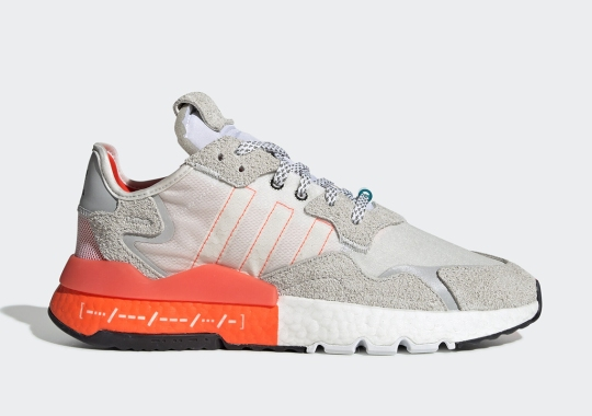 This adidas Nite Jogger Spells Out BOOST In Morse Code