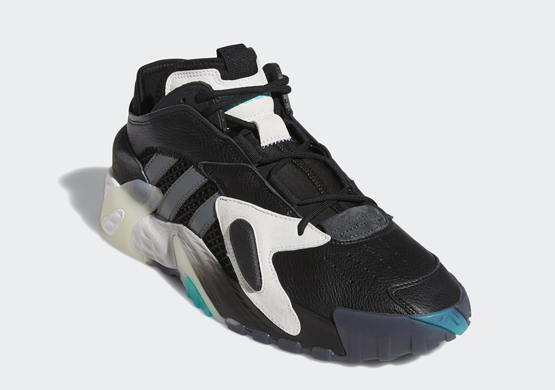 Quinto veinte corto  adidas Streetball Black Teal EE4968 - Release Info | SneakerNews.com