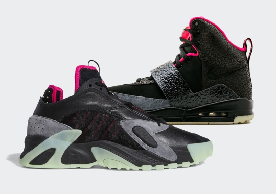 "The adidas Streetball Mimics The Famed Air Yeezy 1 ""Blink"" Colorway"