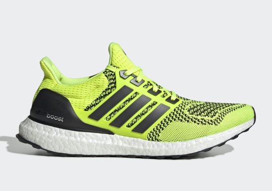 "The adidas Ultra Boost 1.0 ""Solar Yellow"" Is Getting A Retro"
