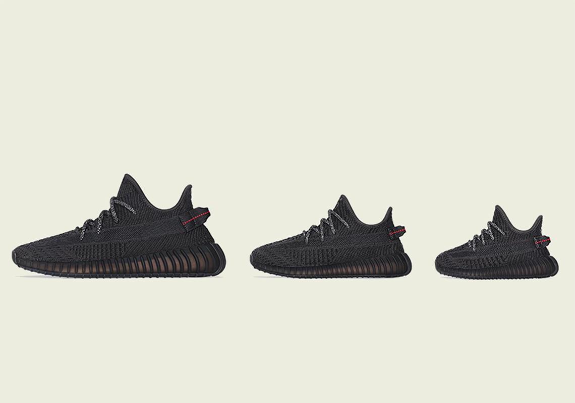 cheaper 98ccd 3c173 adidas Yeezy 350 v2 Black Restock Info | SneakerNews.com
