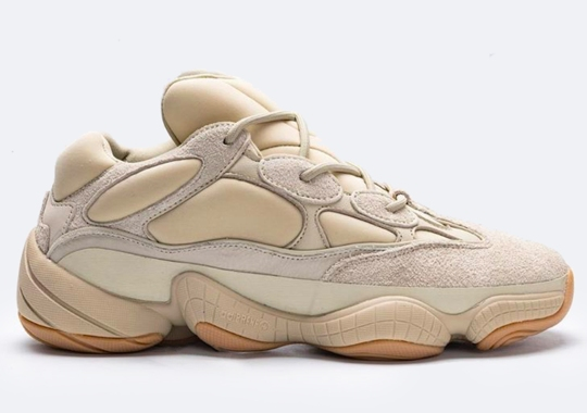 "First Look At The adidas Yeezy 500 ""Stone"""