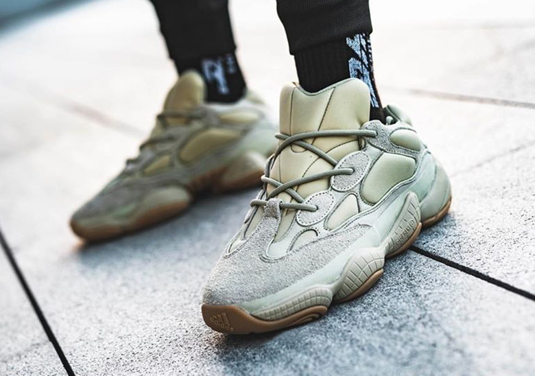 Detailed On Foot Look At The adidas Yeezy 500