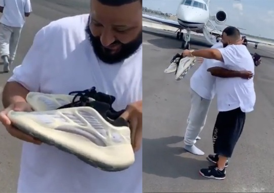 Kanye West Gives adidas Yeezy Boost 700 v3 To DJ Khaled
