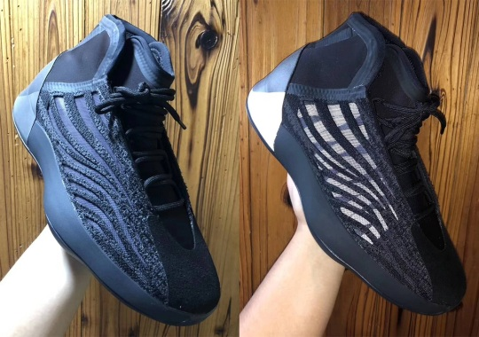 The adidas Yeezy Basketball Shoe Is Coming In All Black
