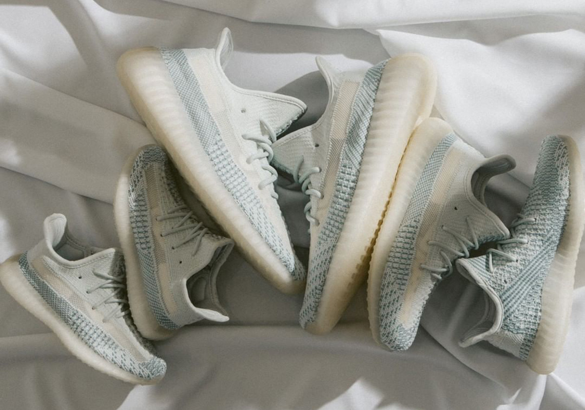 Yeezy Boost 350 V2 Kids 'Cloud White Non-Reflective'