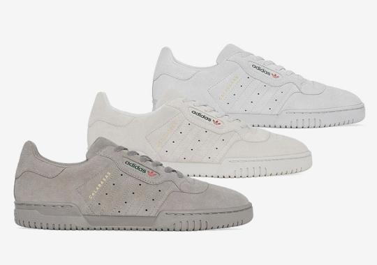 adidas Yeezy Powerphase Releases In Three Colorways On September 18th