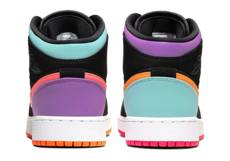 Jordan 1 Mid Multicolor GS Release Info