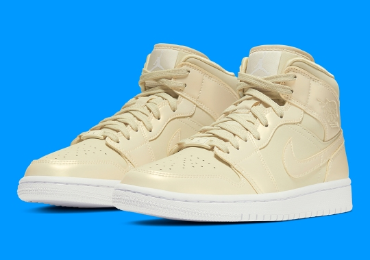 The Air Jordan 1 Mid Is Coming In A Buttery Yellow