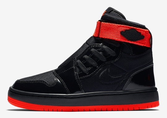 "The Air Jordan 1 Nova XX Gets A Flashy Patent Leather ""Bred"" Look"