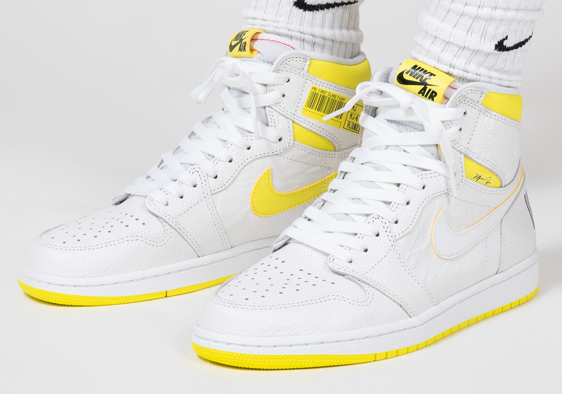 Air Jordan 1 First Class Flight 555088-170 Release Date | SneakerNews.com
