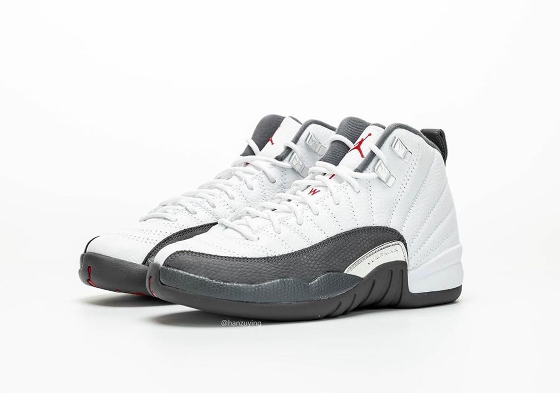 Air Jordan 12 White Dark Grey Release Date |