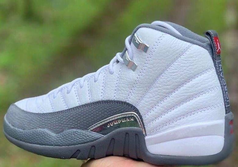 Air Jordan 12 White Dark Grey Release Date | SneakerNews.com