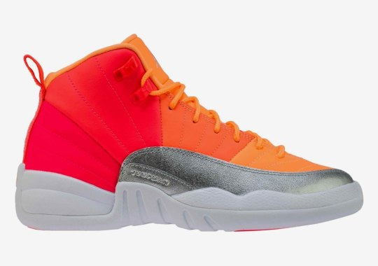 "Air Jordan 12 ""Sunrise"" Releasing On October 4th For Girls"