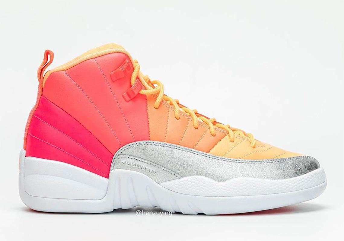 reputable site 6802e e1cb4 Air Jordan 12 Pink Orange 510815-601- Release Info ...