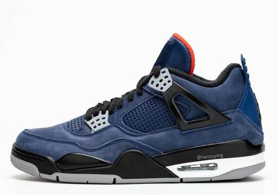 The Air Jordan 4 Gets Winterized For The Colder Season