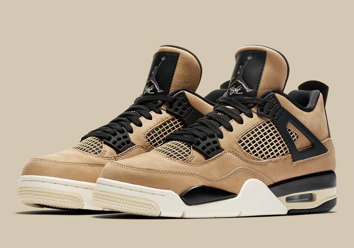 "Where To Buy The Air Jordan 4 ""Mushroom"""
