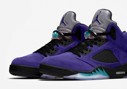 "Air Jordan 5 ""Alternate Grape"" Releasing In 2020"