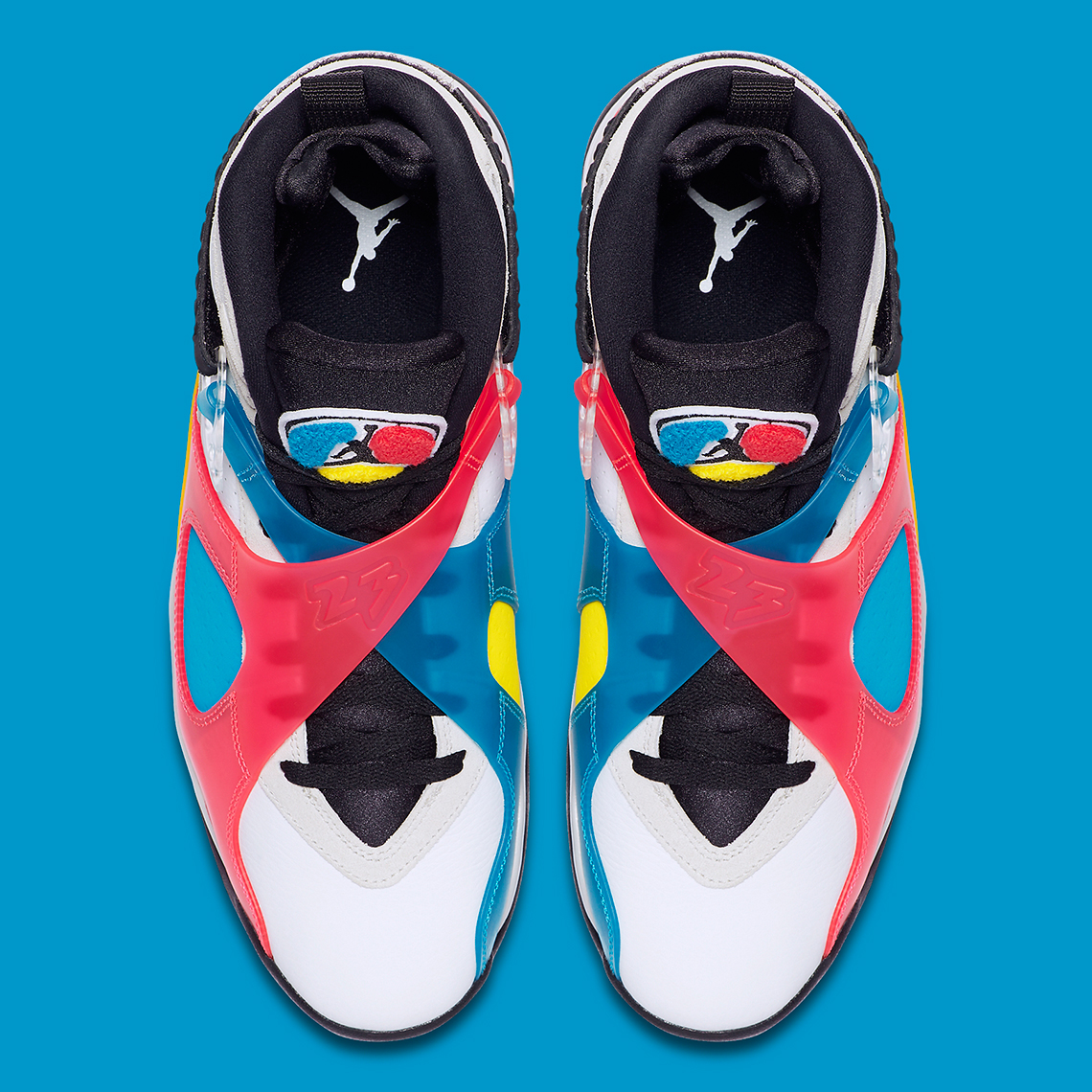 "Air Jordan 8 ""Multi-Color"" Release Date Revealed: Official Images"