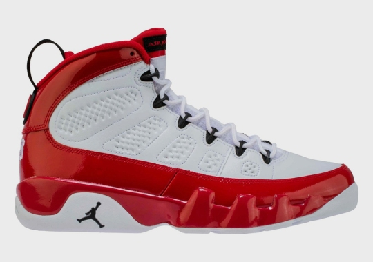 "The Air Jordan 9 ""Gym Red"" Is Dropping In Full Family Sizes"
