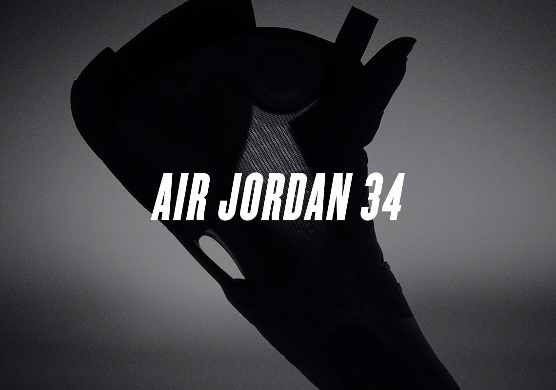 Air Jordan 34 XXXIV - First Look | SneakerNews.com