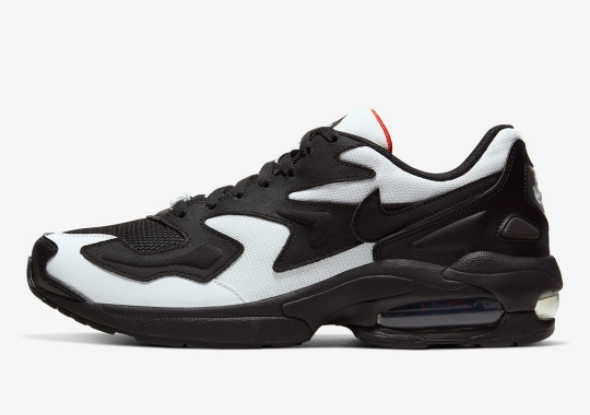 The Nike Air Max 2 Light Gets High Contrast Colorblocking