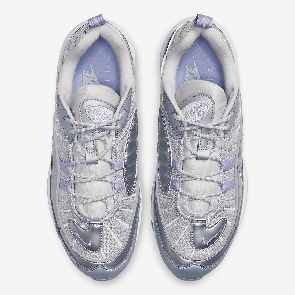Nike Air Max 98 Silver Purple BV6536 001 |