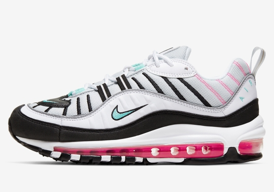 "The Nike Air Max 98 Returns With ""South Beach"" Accents"