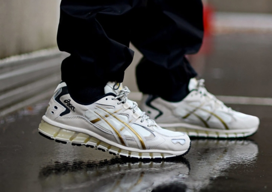 ASICS Reveals Their Newest GEL-Kayano 5 360 Model With Gold Accents