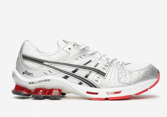 The ASICS GEL-Kinsei OG Returns Soon In Silver And Red