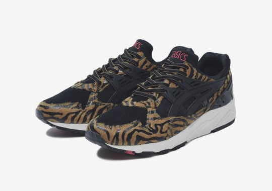 The ASICS GEL-Kayano Trainer Gets Wild Animal Prints